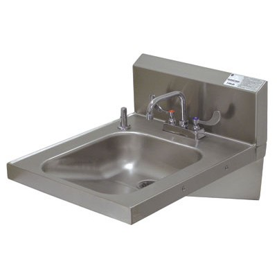 Stainless Steel A D A Compliant Hand Sink With Extended