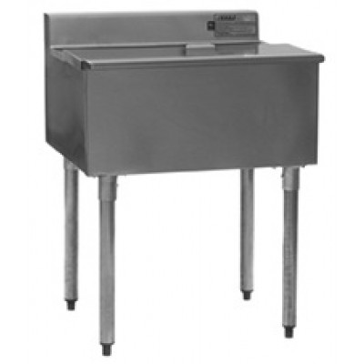 Stainless Steel Underbar Ice Chest Unit