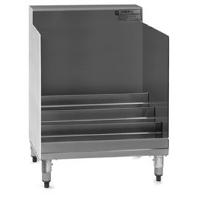 Stainless Steel Underbar Lower-Tier Liquor Display Unit