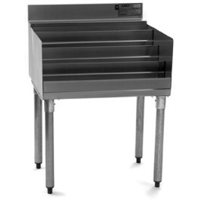Stainless Steel Underbar Liquor Display Unit