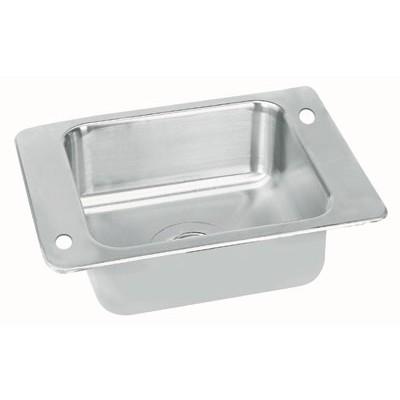 Stainless Steel Single Bowl Classroom Drop-In Sink